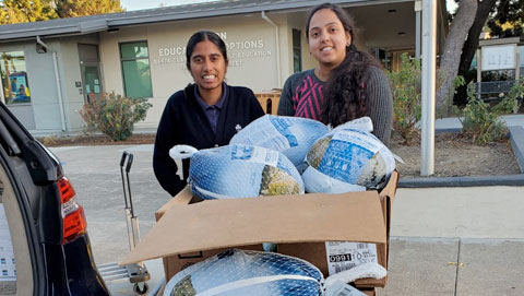 Touch-A-Life donates over 1500lbs of Turkey to Santa Clara Schools